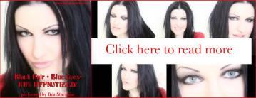 BLACK HAIR + BLUE EYES 100% HYPNOTIZED!-306