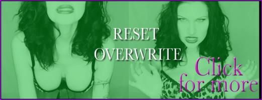 RESET & OVERWRITE -499